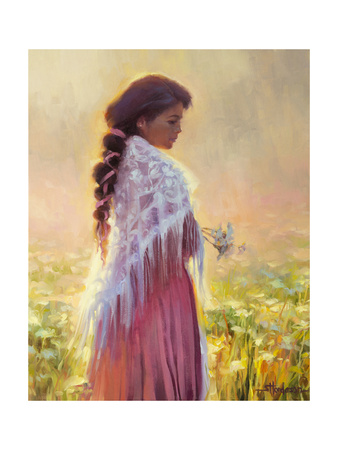 Queen Annes Lace Giclee Print by Steve Henderson