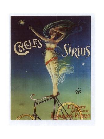 Sirius Cycles Giclee Print