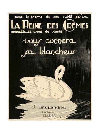 Swan Cremes Giclee Print