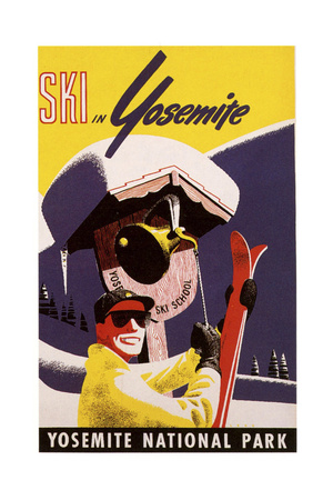Yosemite Natlpark Giclee Print