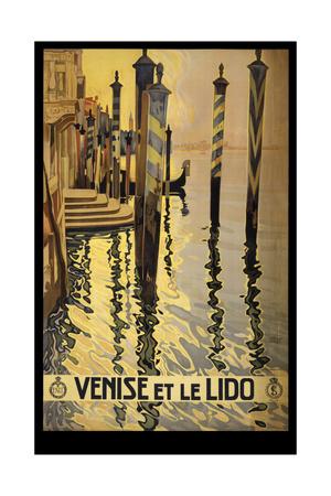 Venise Di Lido Giclee Print