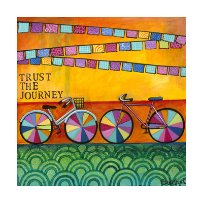 Trust the Journey Giclee Print by Carla Bank