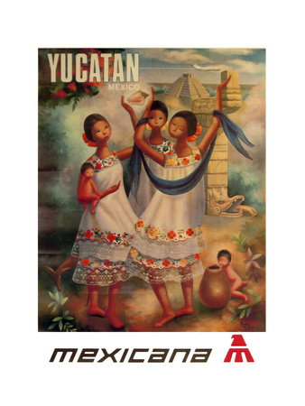 Yucatan Giclee Print