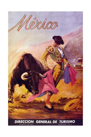 Turismo Mexico I Giclee Print