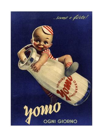 Yomo Vintage Dairy Giclee Print