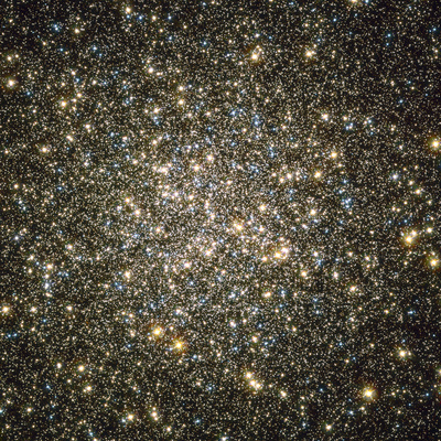 A Celestial Snow Globe of Stars Photographic Print