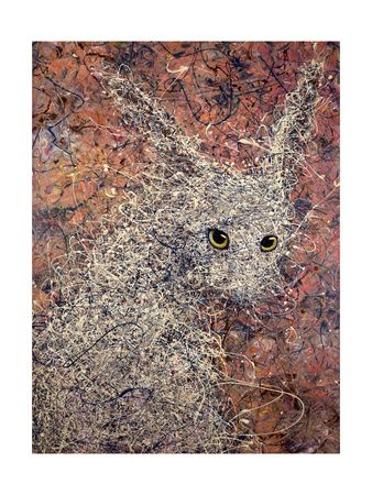 Wild Hare Giclee Print by James W. Johnson