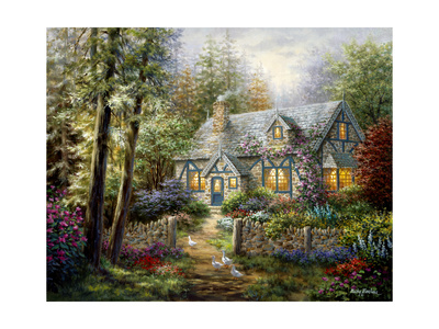 A Country Gem Giclee Print by Nicky Boehme