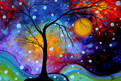 Winter Sparkle Giclee Print by Megan Aroon Duncanson