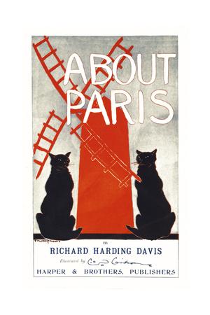 About Paris Giclee Print