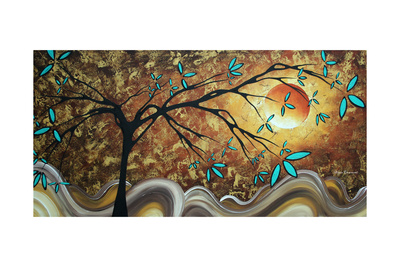 Apricot Moon Giclee Print by Megan Aroon Duncanson