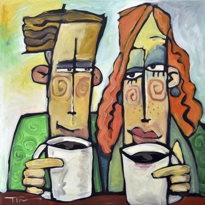 Coffee Date Giclee Print by Tim Nyberg