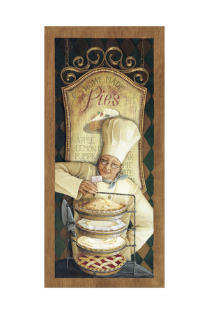 Chef 2 Giclee Print by Lisa Audit