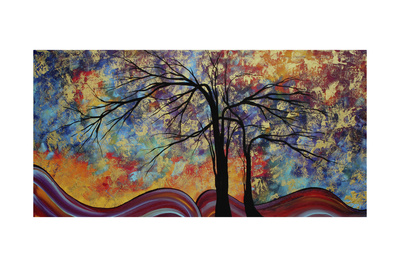 Colorful Inspiration Giclee Print by Megan Aroon Duncanson