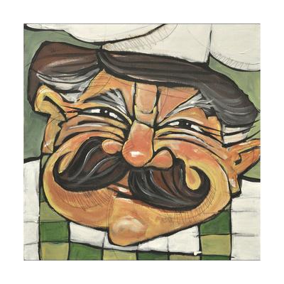 Chef Guido Giclee Print by Tim Nyberg