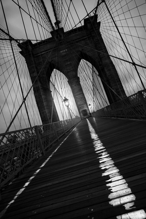 Brooklyn Bridge Study I Photographic Print by Moises Levy