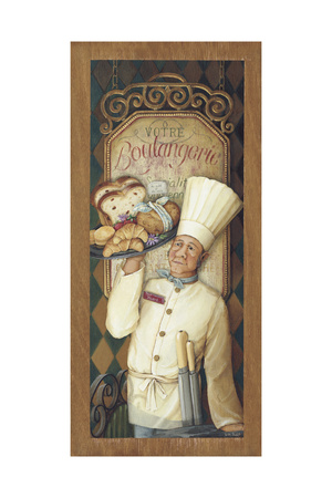 Chef 4 Giclee Print by Lisa Audit