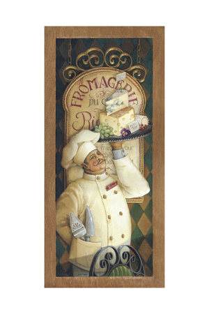 Chef 3 Giclee Print by Lisa Audit