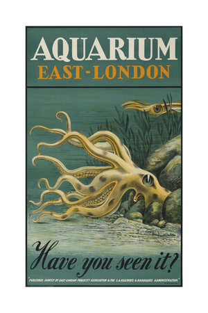 Aquarium, East-London Giclee Print