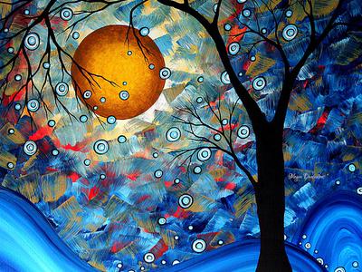 Blue Essence Giclee Print by Megan Aroon Duncanson