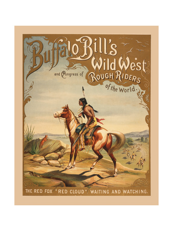 Buffalo Bills Wild West I Giclee Print