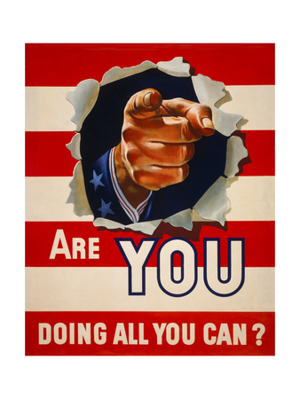 Are You Doing All You Can Giclee Print