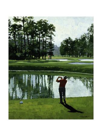 Golf Course 9 Giclée-tryk af William Vanderdasson