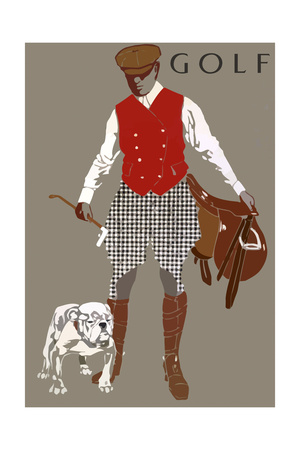 Bulldog Giclee Print