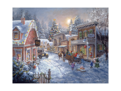 Good Old Days Giclee Print by Nicky Boehme