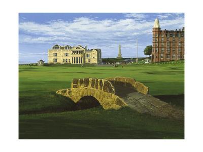 Golf Course 10 Giclee Print by William Vanderdasson