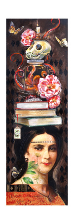 Darwin's Daughter Learns Deportment Giclee Print by Darlene McElroy!