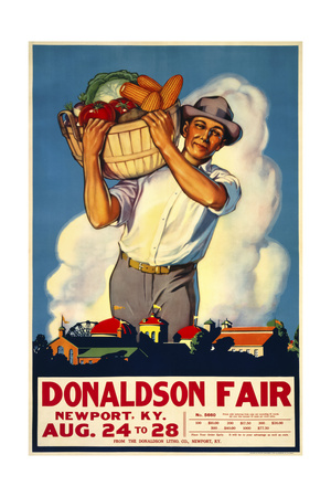 Donaldson State Fair Poster Giclee Print