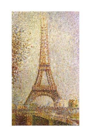 Eiffel Tower by Seurat Giclee Print