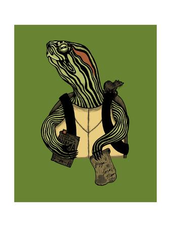 Hero in a Halfshell Giclee Print by Steven Wilson