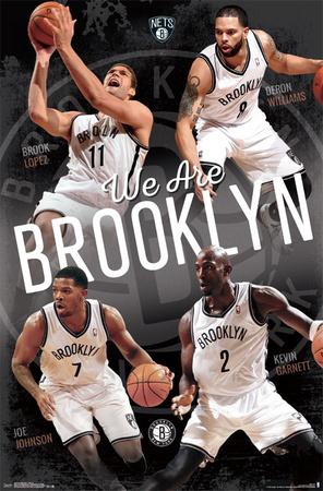 Brooklyn Nets - Team 14 Posters