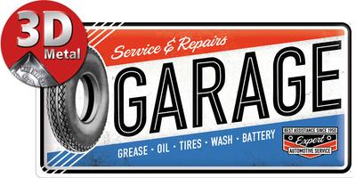 Best Garage Tin Sign