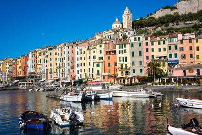 Porto Venere, Cinque Terre, UNESCO World Heritage Site, Liguria, Italy, Europe Photographic Print by Peter Groenendijk