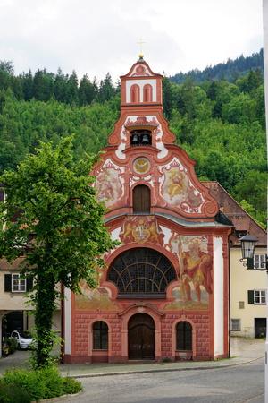 Church, Fussen, Bavaria, Germany, Europe Photographic Print by Robert Harding