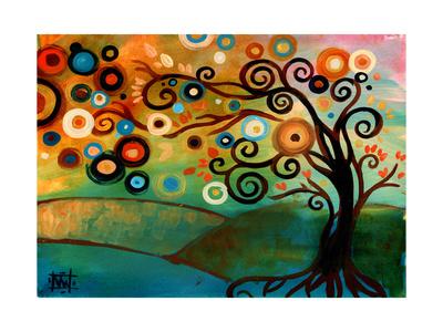 Autumn Morning Giclee Print by Natasha Wescoat