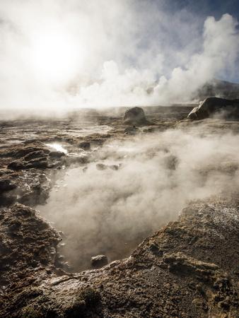Tatio Geysers, Atacama Desert, El Norte Grande, Chile, South America Photographic Print by Ben Pipe