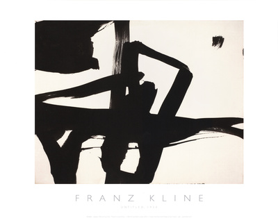 Untitled, 1950 Giclee Print by Franz Kline