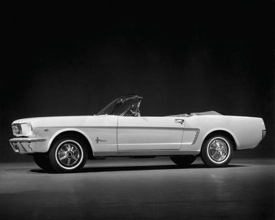 Ford Mustang Convertible, 1964 Giclee Print by  Retro Classics