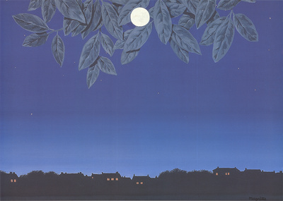 La Page Blanche Prints by Rene Magritte
