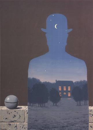 L'Heureux Donateur Poster by Rene Magritte