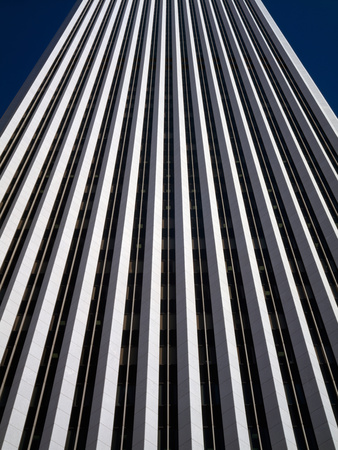 Low Angle View of the Aon Center, Chicago Loop, Chicago, Cook County, Illinois, USA Photographic Print by Green Light Collection