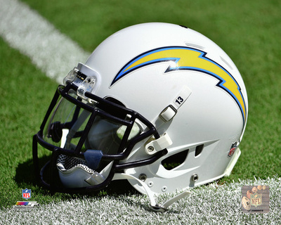San Diego Chargers Helmet Photo