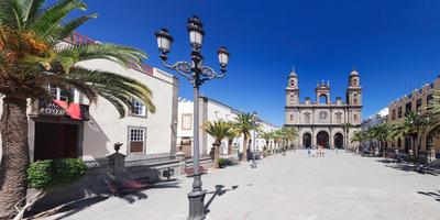 Catedral De Santa Ana at the Plaza De Santa Ana, Las Palmas De Gran Canaria, Gran Canaria, Spain Photographic Print by Green Light Collection