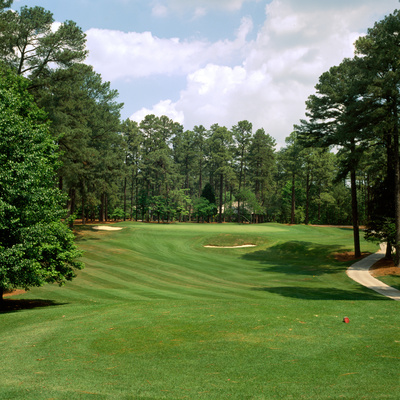 Golf Course at Pinehurst Resort, Pinehurst, Moore County, North Carolina, USA Photographic Print by Green Light Collection