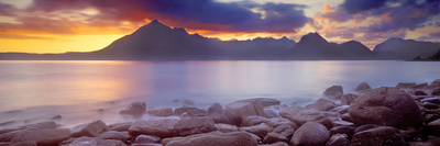 Rocks on the Coast, Elgol, Loch Scavaig, Isle of Skye, Scotland Photographic Print by  Panoramic Images