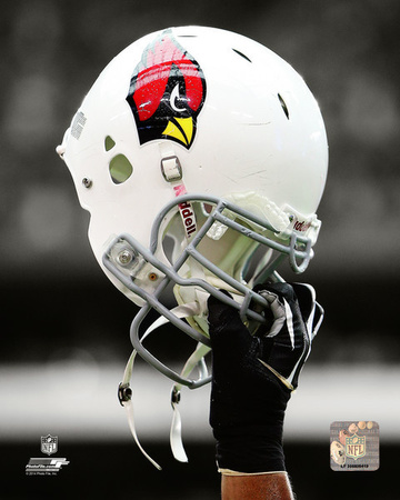 Arizona Cardinals Helmet Spotlight Photo
